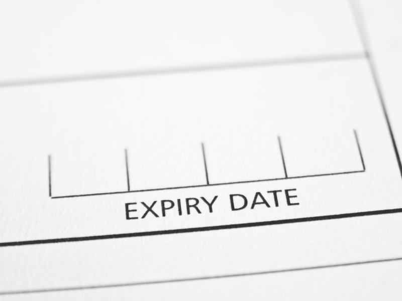 healthcare strategy expiration date